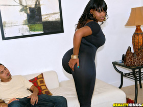 Dana Dior Beg for booty Thick Juicy Ebony Babe gets her Pussy Fucked RoundAndBrown™