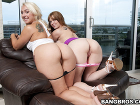 Summer and Lori Brooks are both scorching hot 2 huge big asses and 2 perfect perky tits  what more can you ask for in life