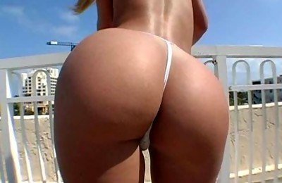 Ass In The Sun With Jada Stevens